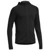 Icebreaker M's Quantum LS Zip Hood Black/Black2